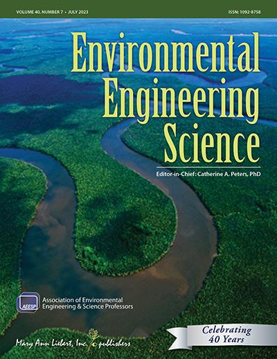 Environmental Engineering Science   Mary Ann Liebert, Inc
