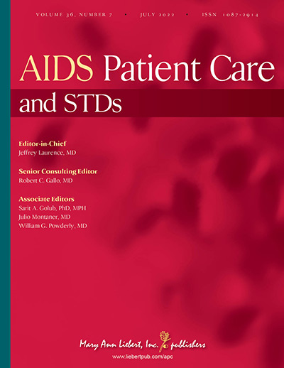 AIDS Patient Care and STDs | Mary Ann Liebert, Inc , publishers