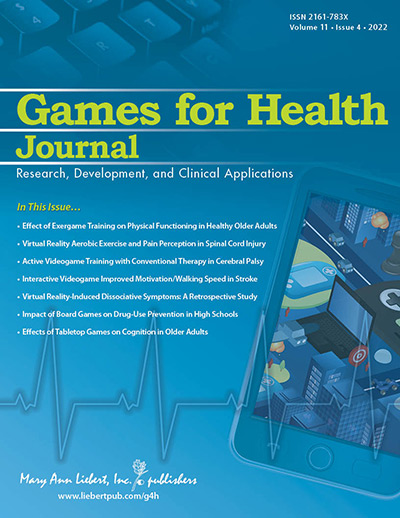 Games for Health Journal