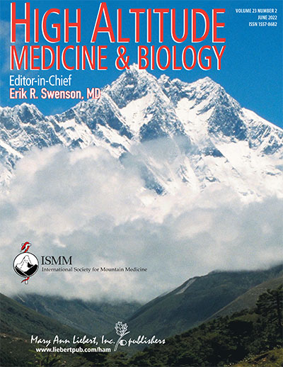 High Altitude Medicine & Biology