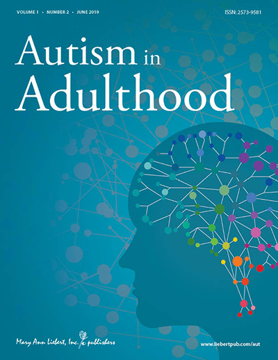 Autism in Adulthood Journal Cover