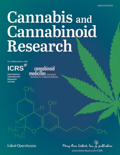 Cannabis and Cannabinoid Research cover image