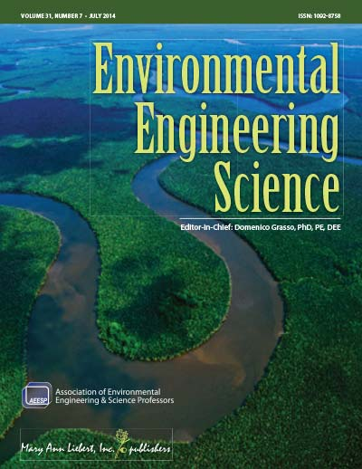 View details for Environmental Engineering Science cover image