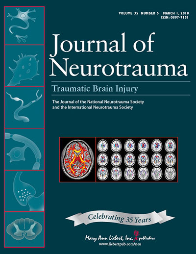 Journal of Neurotrauma cover image