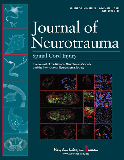 Journal of Neurotrauma Journal Cover