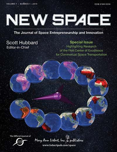 New Space: The Journal of Space Entrepreneurship and Innovation